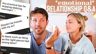 WHAT WE WISH WE KNEW BEFORE MARRIAGE // *emotional* Q&A //