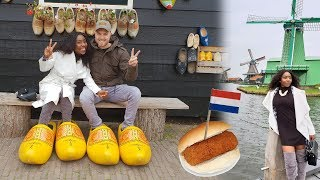 SHOWING MY NIGERIAN WIFE THE REAL AUTHENTIC HOLLAND