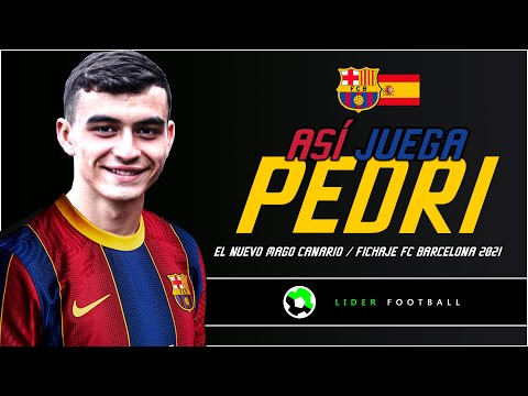 "ASI JUEGA PEDRO GONZÁLEZ ""PEDRI"" NUEVO CRACK DEL FC BARCELONA | PRESENTADO OFICIAL"