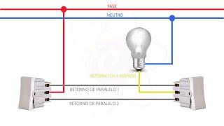 como liga um three way interruptor paralelo