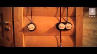 видео Стильная ретро проводка для деревянного  дома