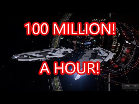 elite dangerous how to make money 100 mill a hour