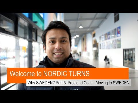 Why SWEDEN? Part 5 PROS & CONS - MOVING TO SWEDEN