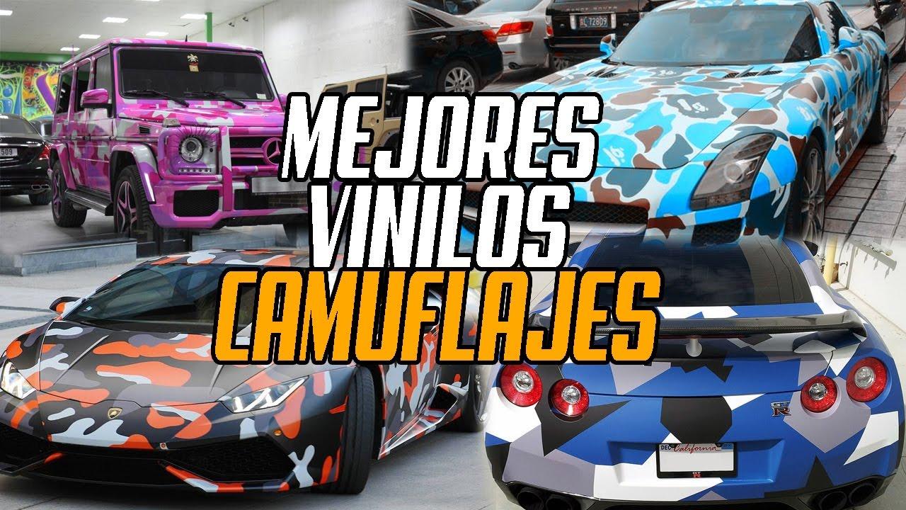 MEJORES PINTURAS DE CAMUFLAJE EN AUTOS | WHATTHECAR - YouTube