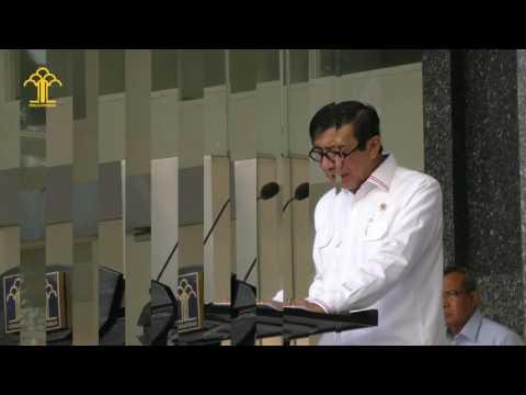 Halal Bihalal Kementerian Hukum dan HAM Tahun 2017