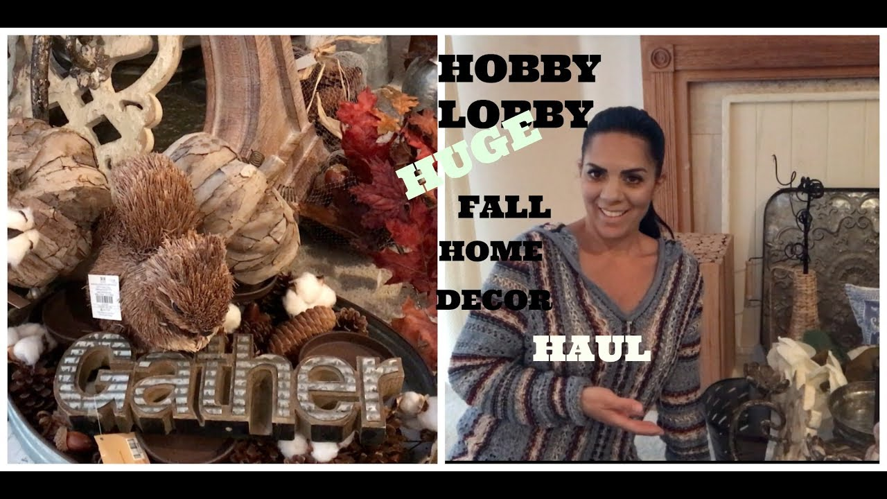 Hobby lobby home decor haul