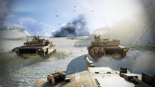 Very Epic Tank Battle from Call of Duty Ghosts !