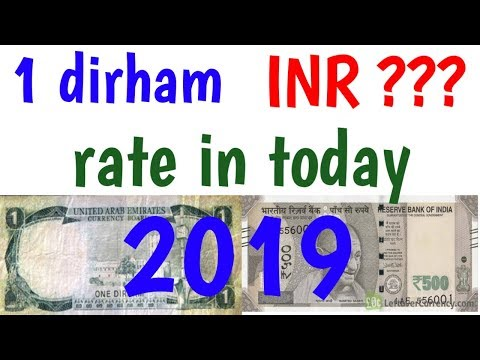 1 Dirham In Indian Rupees Today Ll #inrtoaed Aed To Inr Rate Today