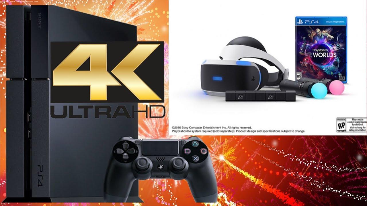rumor playstation 4 5 with 4k support playstation vr bundle 500 youtube. Black Bedroom Furniture Sets. Home Design Ideas