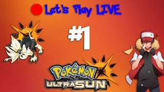 LIVE - Let's Play Pokémon Ultra Sun - Episode 1 - The Journey Begins Anew thumbnail