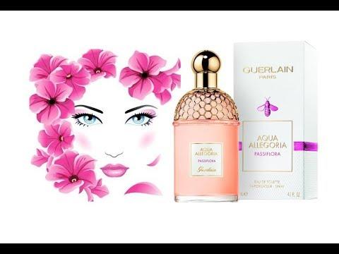 Reseña De Perfume Aqua Allegoria Passiflora De Guerlain Nuevo 2018