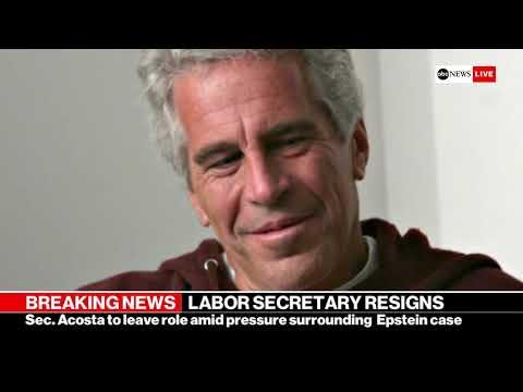 Trump's Labor Secretary Alexander Acosta resigns amid Epstein plea deal furor | ABC News