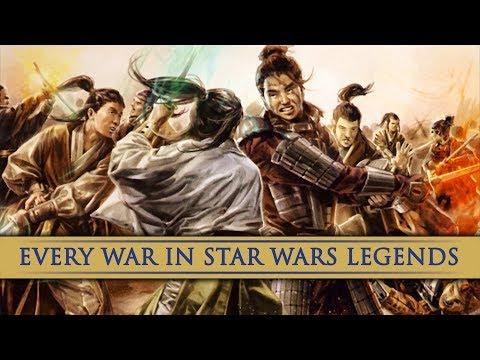 Every War in Star Wars Legends