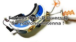 furious true d diversity vs nexwave   prodrone antenna vs spironet