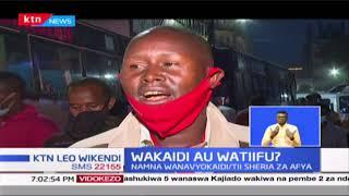 Wakaidi au Watiifu?  Wakenya wanaendelea kupuuza kanuni za wizara ya afya
