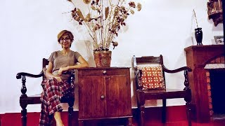 Indian Home Decor   Living Room | How To Style Empty Wall With Furnitures