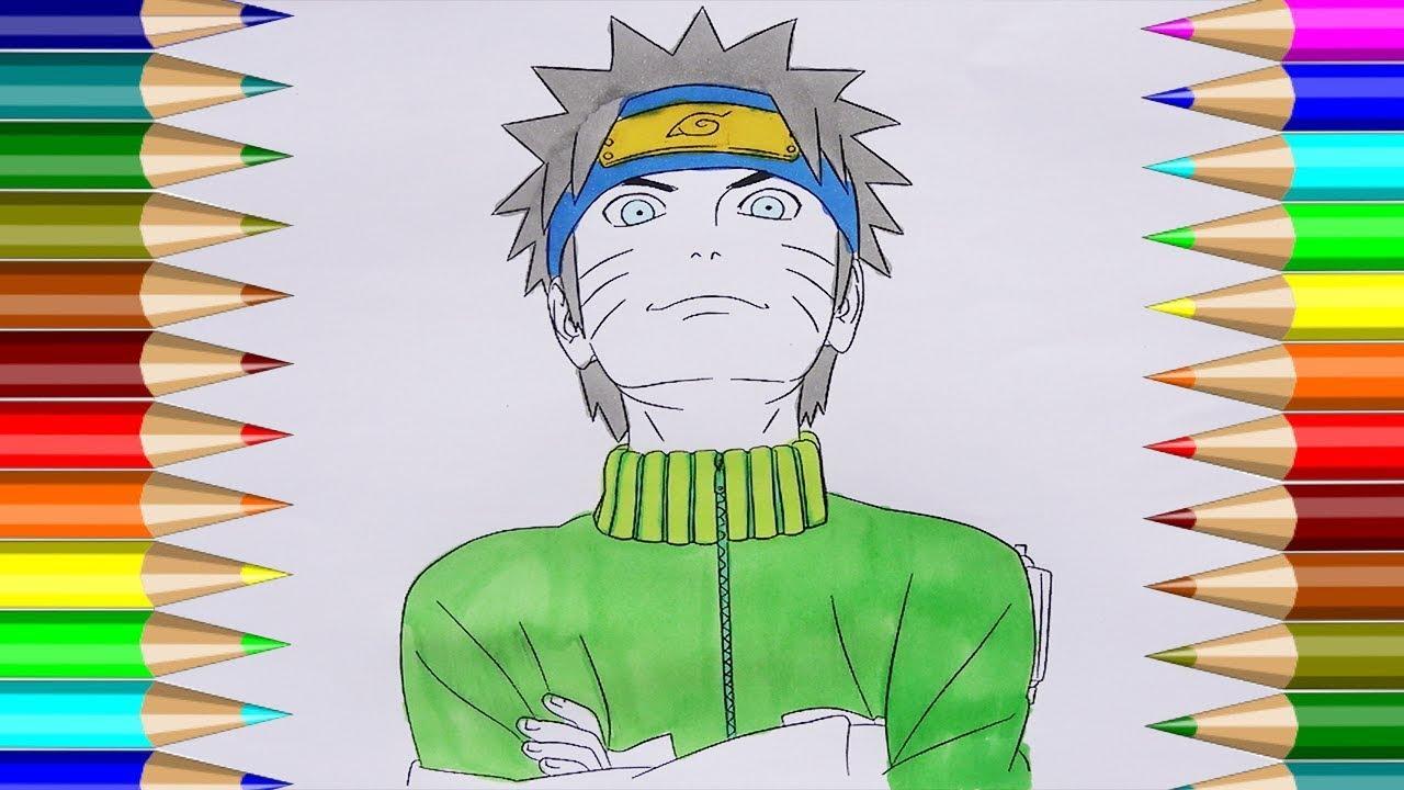 Naruto Para Colorear Cómo Dibujar Naruto Lindo Niños Dibujo Cp 4k