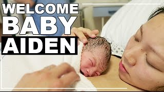 I Gave Birth! Welcome to the World, Baby Aiden