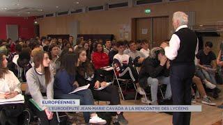 Yvelines | Européennes : L'eurodéputé Jean-Marie Cavada à la rencontre des lycéens
