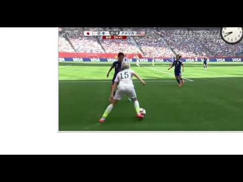 Japan v. USA First half Full - FIFA Women's World Cup 2015