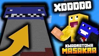 ZEMŚCILIŚMY SIĘ NA DZUNIORZE WRAZ Z SKKF'EM! - Minecraft Kwadratowa Masakra