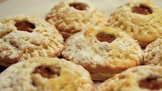Elmalı Kurabiye Tarifi - Evde Cevizli Pastane Tatlı Kuru Pastaları