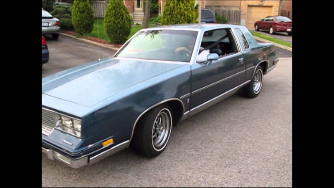 1985 Cutlass Supreme with dual exhaust added - YouTube