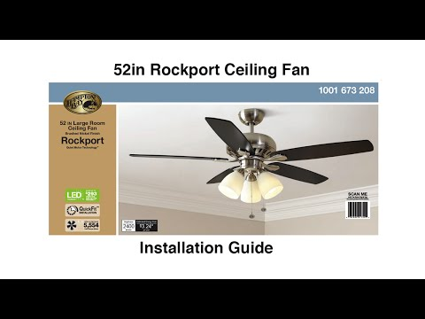 How to Install the Hampton Bay 52