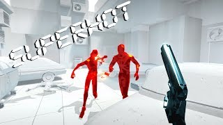SUPERHOT. MIND .CONTROL .DELETE-gameplay: run- 1 !!!