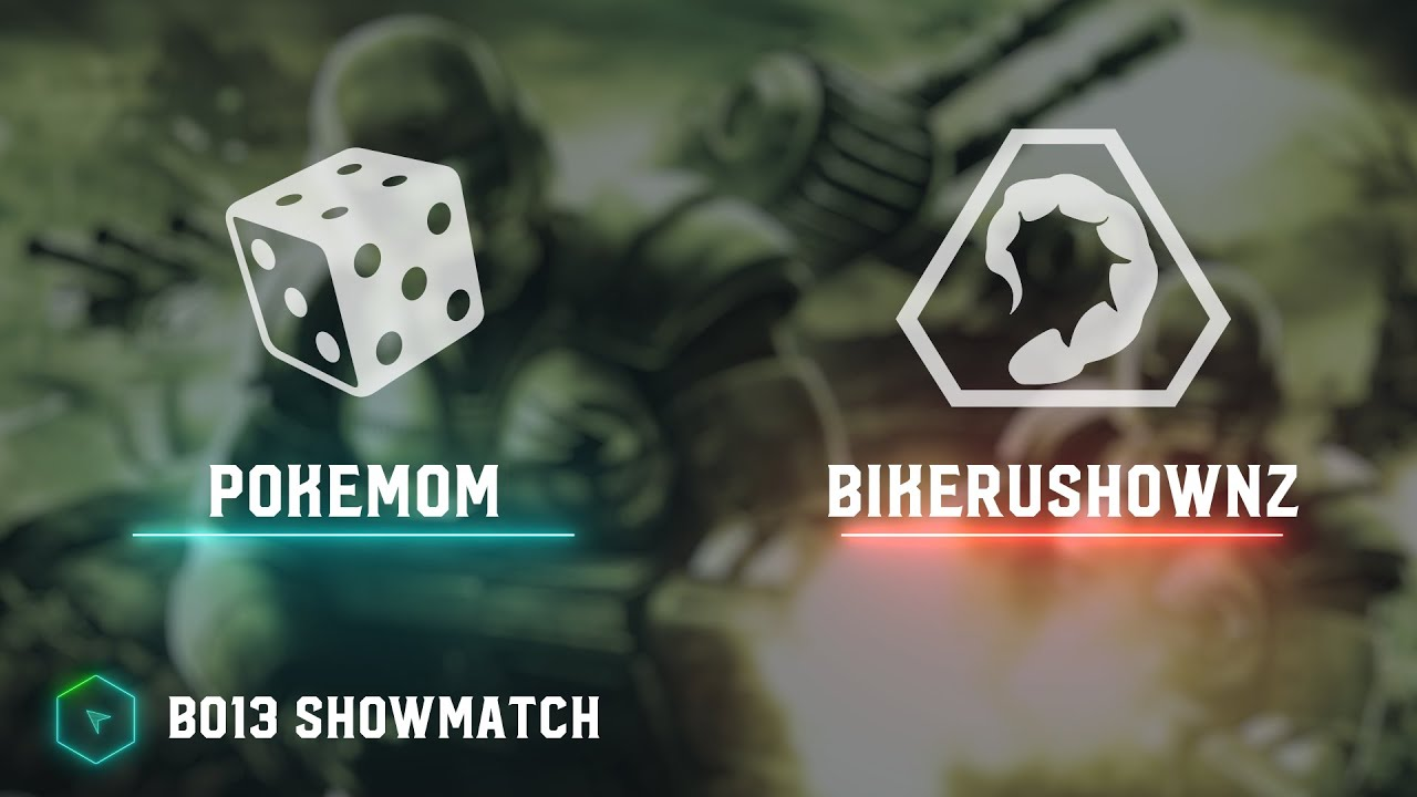 PoKeMoM vs bikeRUshownz - Bo13 100 Showmatch - Tiberium Wars