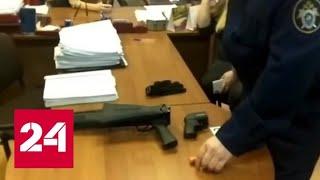 расстрел в мировом суде Новокузнецка  видео Следкома