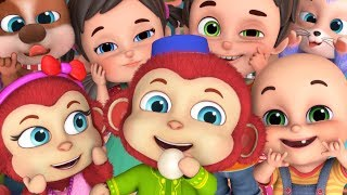 Bandar Mama Pahan Pajama - Monkey Songs Collection | Hindi Rhymes for Children | Jugnu kids