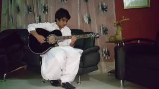Qarara Rasha - Pashto Song on guitar