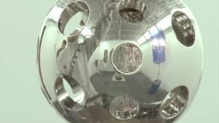 Декоративное хромирование и золочение деталей(Нанесение зеркального металлического покрытия на изделие декора (декоративный шар из дерева). При проведен..., 2014-11-04T12:34:46.000Z)