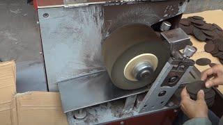 CY-31 Машина для полировки ремня из кожи - Видео от Egopot