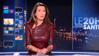 Anne-Claire Coudray évoque son JT sans soutien-gorge qui avait fait le buzz