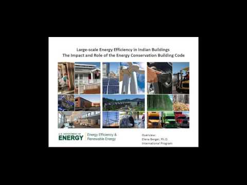 Large-scale Energy Efficiency in Indian Buildings