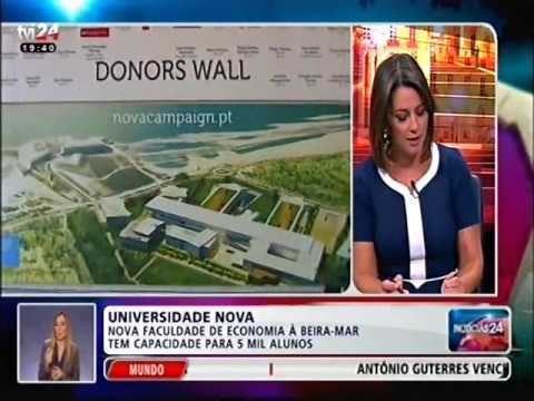 Daniel Traça em entrevista à TVI24