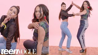 Nia Sioux & Megan Batoon Try Dances From History | Teen Vogue