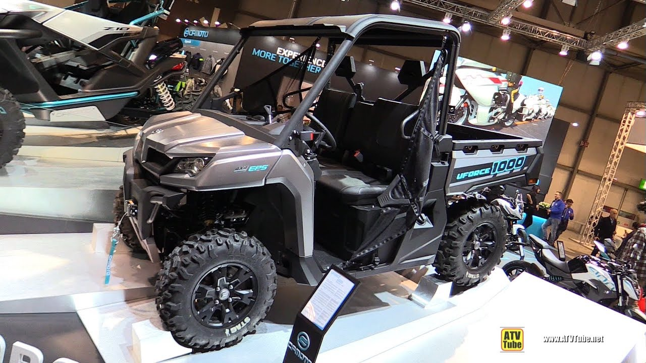 2018 cfmoto u force 1000 utility atv walkaround 2017. Black Bedroom Furniture Sets. Home Design Ideas