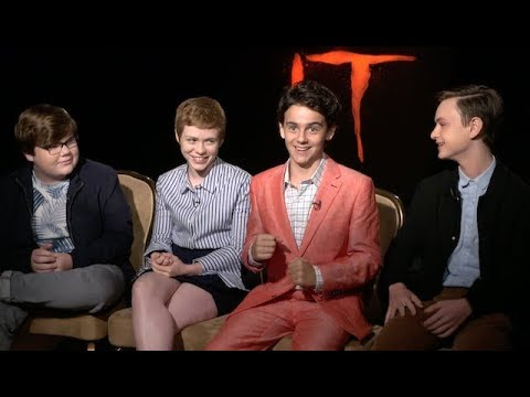 Cast interviews for IT movie 2017