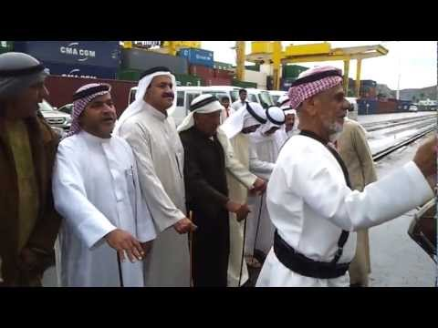 Traditional UAE Dance at Khorfakkan Port 17.12.12