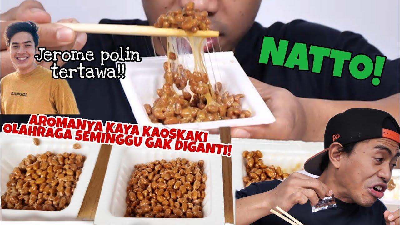PARAH!! MUKBANG 3 BOX NATTO MAKANAN EKSTRIM ASLI JEPANG!!