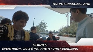 Diaries: Overthrow, Crab's Pot and a funny Dendiman @ The International 2016 (ENG SUBS)