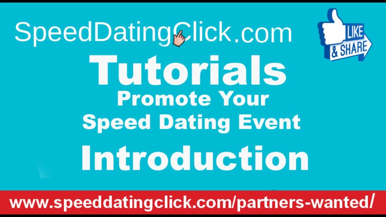 how to promote speed dating events