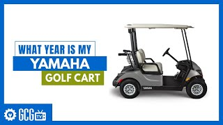 What Year Model Is My Yamaha Golf Cart Golfcartgarage Com