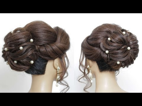 textured-bun-updo.-bridal-hairstyle-for-long-hair