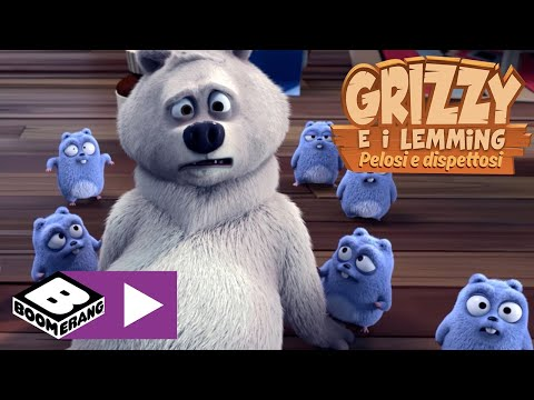 Download Orsetto | Grizzy e i Lemming | Boomerang