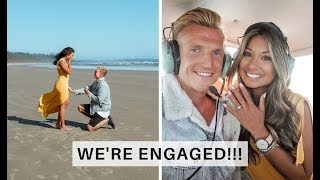 WE'RE ENGAGED!!! Our Tofino Proposal Story | Go Live Explore