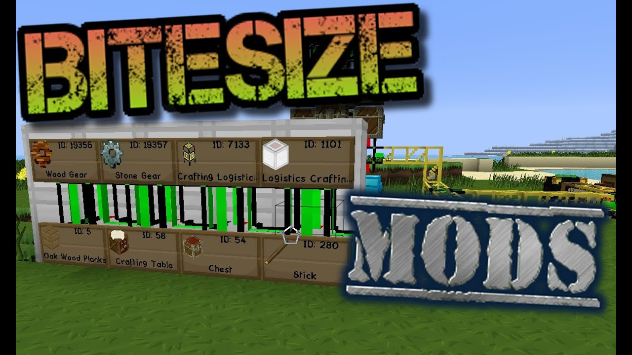 Bitesize minecraft logistics pipes basic auto crafting youtube bitesize minecraft logistics pipes basic auto crafting sciox Choice Image